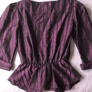 SMITH Tops - Vintage purple blouse